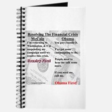 """Financial Crisis"" Journal"