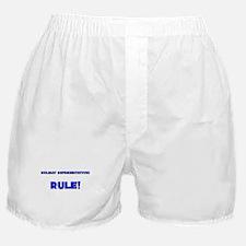 Holiday Representatives Rule! Boxer Shorts