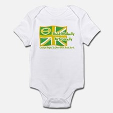 Ecology Union Jack Infant Bodysuit
