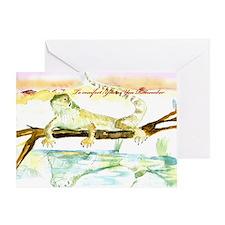 BEARDED DRAGON Sympathy Card