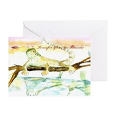 BEARDED DRAGON Sympathy Cards (Pk of 10)