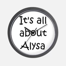Alysa Wall Clock