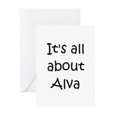 Alva's Greeting Card