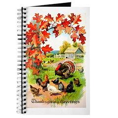 Thanksgiving Greetings Journal