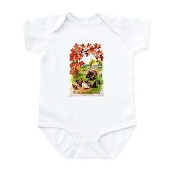 Thanksgiving Greetings Infant Bodysuit