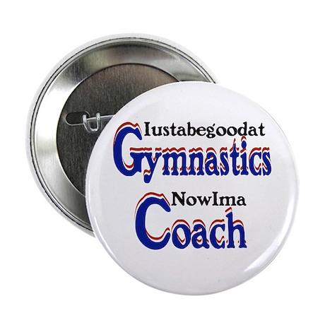 """Coach Gymnastics 2.25"""" Button"""