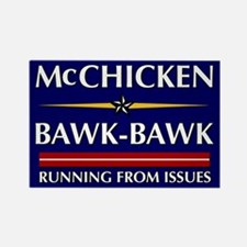 McChicken/Bawk-Bawk Rectangle Magnet