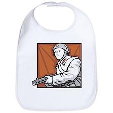 Soviet Soldier Bib