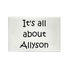 Allyson Rectangle Magnet