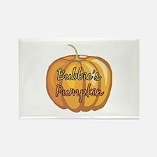 Bubbie's Pumpkin Rectangle Magnet