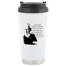 Shaw Quote Travel Mug