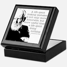 Shaw Quote Keepsake Box