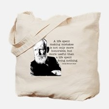 Shaw Quote Tote Bag