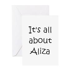 Cool Aliza Greeting Card