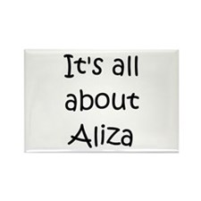 Cool Aliza Rectangle Magnet