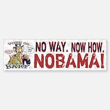 Vote or Barf Anti-Obama Bumper Bumper Bumper Sticker