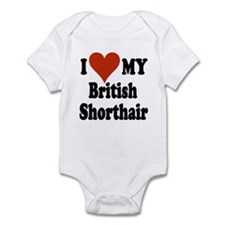 British Shorthair Infant Bodysuit
