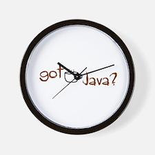 Got Java? Wall Clock