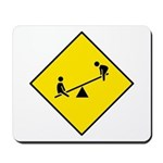 Playground Sign - Mousepad