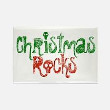 Christmas Rocks Rectangle Magnet