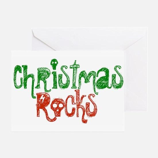 Christmas Rocks Greeting Card