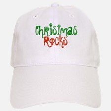 Christmas Rocks Baseball Baseball Cap