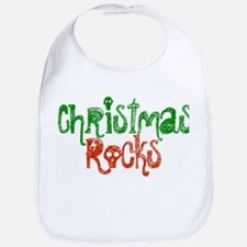 Christmas Rocks Bib
