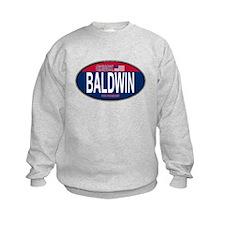 Chuck Baldwin RW&B Oval Sweatshirt