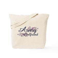 Army Girlfriend - Flower Tote Bag