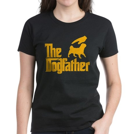American Lo Sze Pug Women's Dark T-Shirt