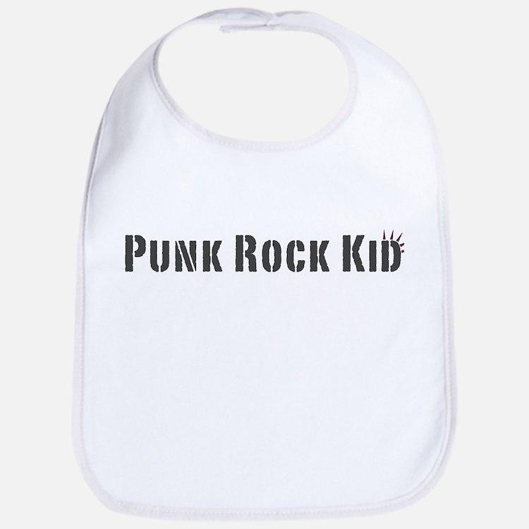 Punk Rock Kid (new) Bib
