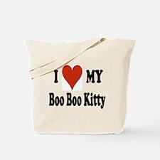 Boo Boo Kitty Tote Bag
