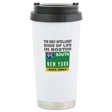 Boston Intelligence Travel Mug