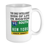 Boston Intelligence Large Mug