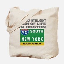 Boston Intelligence Tote Bag