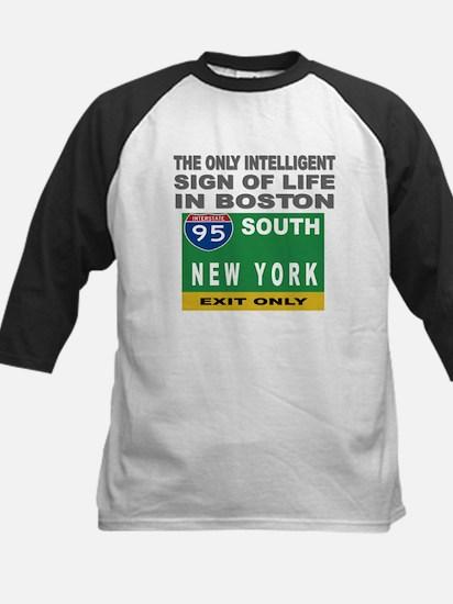 Boston Intelligence Kids Baseball Jersey