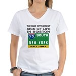 Boston Intelligence Women's V-Neck T-Shirt