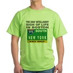 Boston Intelligence Green T-Shirt