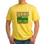 Boston Intelligence Yellow T-Shirt