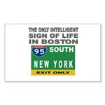 Boston Intelligence Rectangle Sticker
