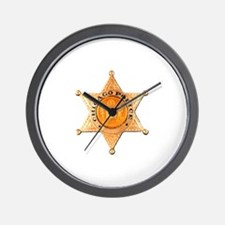 Chicago PD Badge Wall Clock
