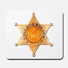 Chicago PD Badge Mousepad