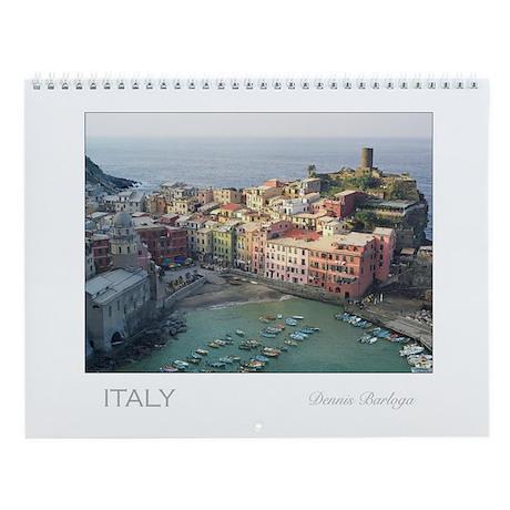 Photographic calendar of Italy by Dennis Barloga