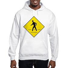 Pedestrian Crosswalk Sign Hoodie