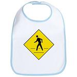 Pedestrian Crosswalk Sign - Bib
