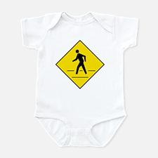 Pedestrian Crosswalk Sign - Infant Creeper
