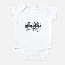 """Daughter Microbiologist"" Infant Bodysuit"