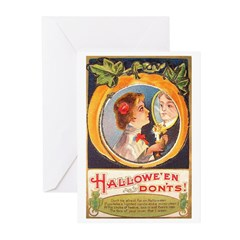 Halloween Don'ts Greeting Cards (Pk of 10)