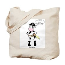 Pirate Cow Tote Bag