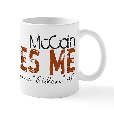 McCain Scares Me Halloween Mug